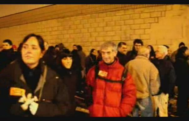 Se cumplen los servicios mínimos en el inicio de la huelga general en el País Vasco