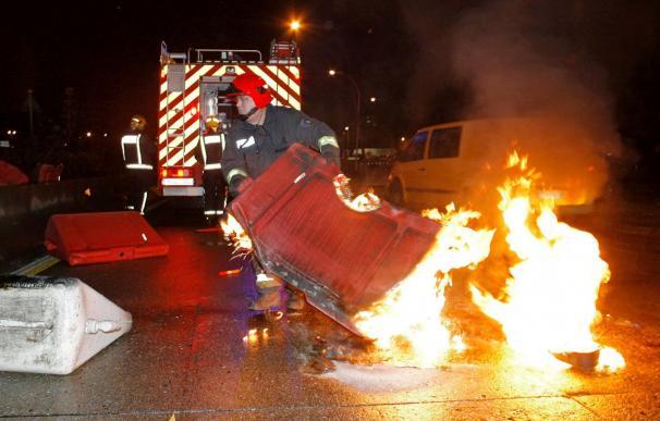 Ocho detenidos en Vigo por alteración del orden público