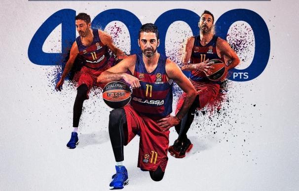 Navarro, primer jugador en llegar a los 4.000 puntos en la Euroliga
