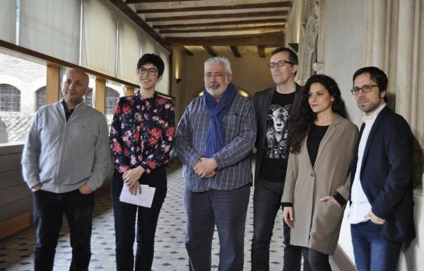 """Violeta Barba expresa el """"compromiso"""" de las Cortes con el cine aragonés, de """"éxito y calidad"""""""