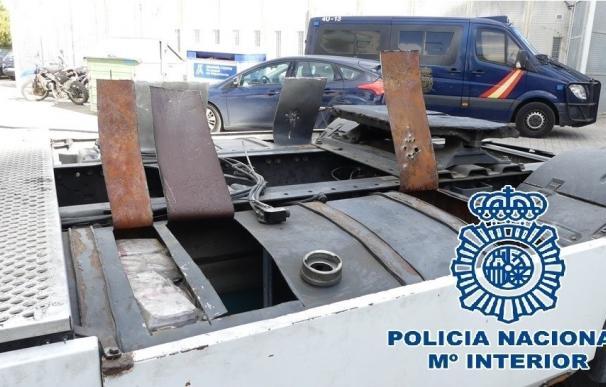 A prisión el conductor de un camión con más de 380 kilos de hachís interceptado en Algeciras