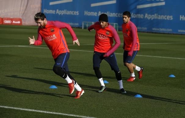 Luis Enrique convoca a toda la plantilla disponible para medirse con el Al-Ahli