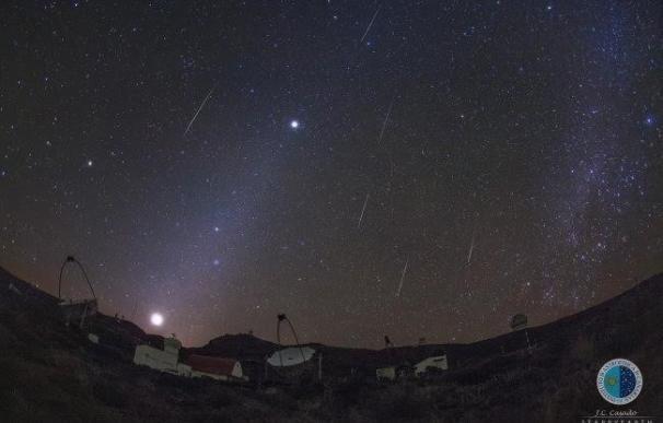 """Las noches del 13 y 14 de diciembre serán las mejores para ver la """"muy intensa"""" lluvia de meteoros Gemínidas"""