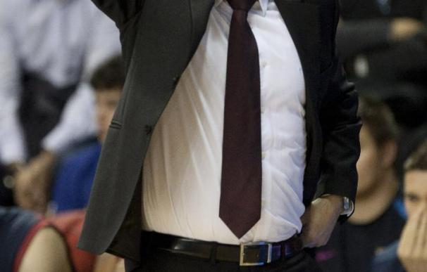 Pascual, entrenador del Regal Barcelona, destaca la solidez del Olimpia en su pista