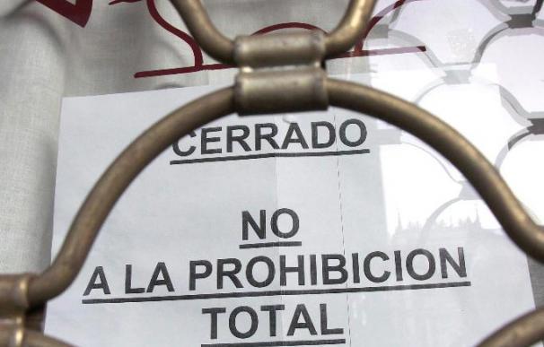 Los hosteleros de Palencia calculan entre el 60 y 70 por ciento el seguimiento en los cierre de los locales