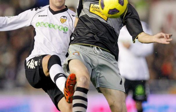 La última ecografía confirma la mejoría del centrocampista del Espanyol Raúl Baena