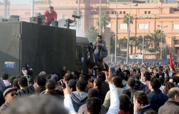 Activistas egipcios denuncian la detención de centenares de manifestantes