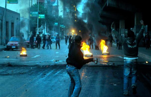 Dos muertos durante las protestas políticas de hoy en Egipto