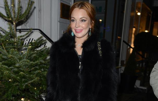 Lindsay Lohan ya conoce a sus nuevos suegros