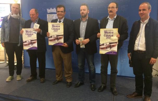 Cinco coros y orquestas almerienses participarán en el Circuito Provincial de Música Clásica de 2017