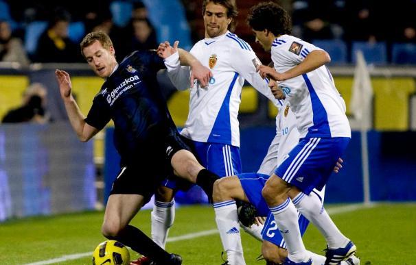2-1. El Zaragoza da un primer paso adelante al vencer a la Real Sociedad