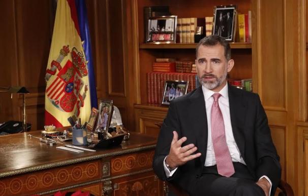 Felipe VI intenta olvidar la polémica del Salón del Trono con un discurso de Navidad conservador a nivel televisivo