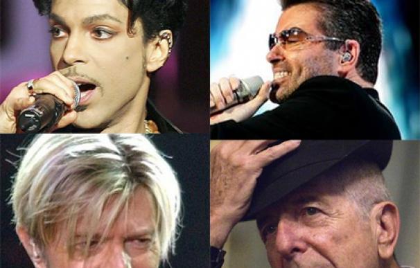 """Prince, Bowie, Cohen, Michael: 2016, """"annus horribilis"""" para la música"""
