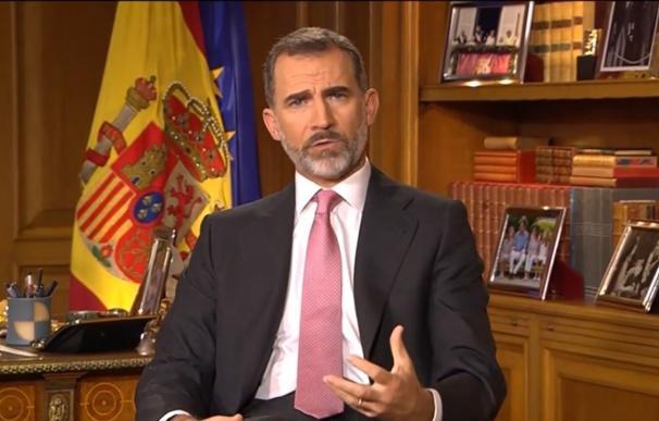 'La1' fue la cadena líder en Castilla-La Mancha para ver el mensaje del Rey en Navidad, según un estudio