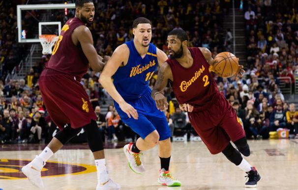 Kyrie Irving decide el partido para los Cavaliers en la revancha de la final de la NBA
