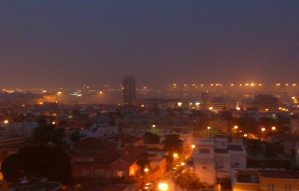 La Aemet decreta el riesgo amarillo por calima en Canarias