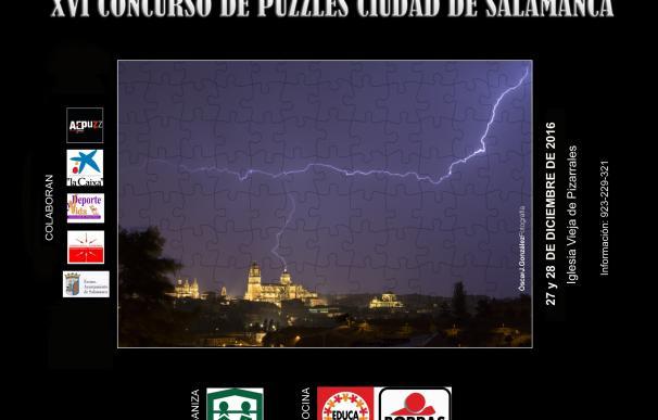 Salamanca acoge desde este martes el XVI Concurso Nacional de Puzzles