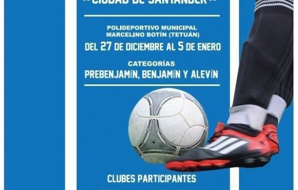 Cerca de 200 niños disputarán el II Torneo de Fútbol Sala 'Ciudad de Santander'