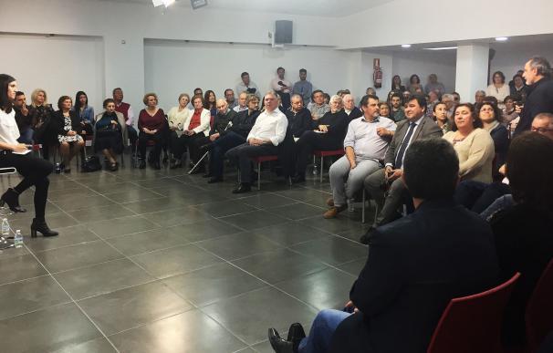 """El PSOE celebra con un """"emotivo"""" acto la aprobación de la Ley de Memoria Histórica"""
