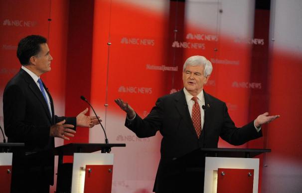 La guerra entre Romney y Gingrich se intensifica