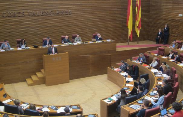 Las Corts celebrarán la próxima semana el pleno de presupuestos y otro extraordinario para tramitar iniciativas de ley