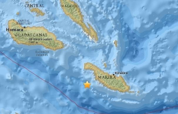 Retirada la alerta por tsunami para el Pacífico tras el terremoto en las Islas Salomón