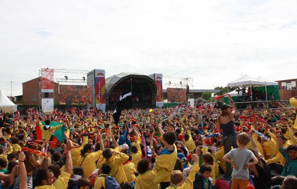 Más de 13.000 niños y jóvenes participan en la 'Jamborinada' de Tàrrega (Lleida)