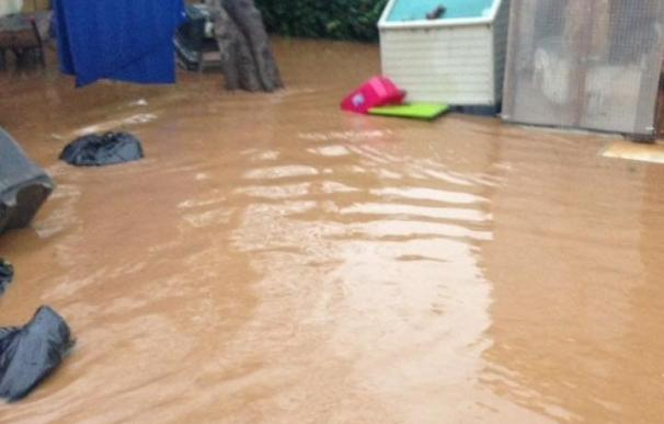 Cs pide al Gobierno medidas para paliar los efectos del temporal en las playas de Mijas y Fuengirola