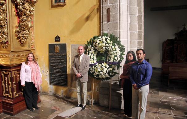 Conejo (PSOE-A) apuesta por dar a conocer la figura de Bernardo de Gálvez en México