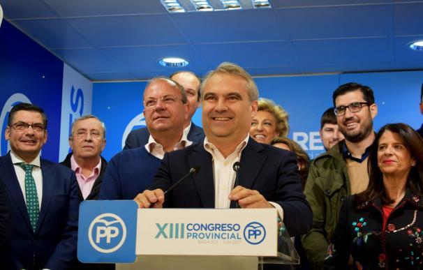 Francisco Javier Fragoso, único candidato, no tendrá competencia para seguir liderando el PP provincial de Badajoz