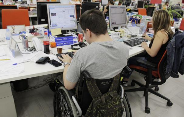 Tres de cada cuatro personas con discapacidad no está trabajando, según un estudio