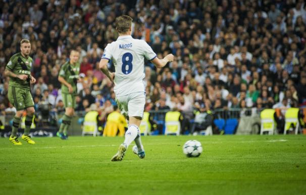 Kroos y Morata vuelven a la lista para el partido contra el Borussia Dortmund