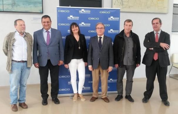 La nueva secretaria general de CCOO visita CECO para analizar la realidad socioeconómica de la provincia