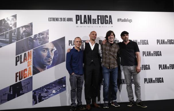 """Luis Tosar, Javier Gutiérrez y Alain Hernández encarnan """"amistad"""", """"honor"""" y """"lealtad"""" en el thriller 'Plan de fuga'"""