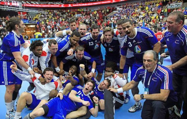 Francia, campeona del mundo tras batir en la prórroga por 37-35 a Dinamarca
