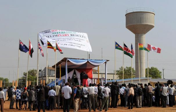 El 99,5 por ciento de los sudaneses del sur votó a favor de la secesión