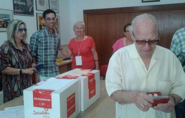 Manuel Martín Rueda, malagueño de 102 años y militante del PSOE