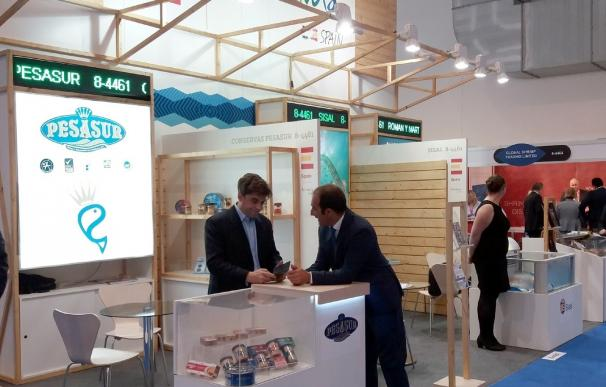 Un total de siete firmas agroalimentarias andaluzas participan con Extenda en la feria 'Sea Food Expo Global'