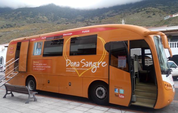 El ICHH insiste en la importancia de donar sangre para mantener las reservas en Canarias