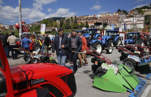 Javier Fernández destaca la implicación de vecinos y empresas en la consolidación de la Feria de Tineo