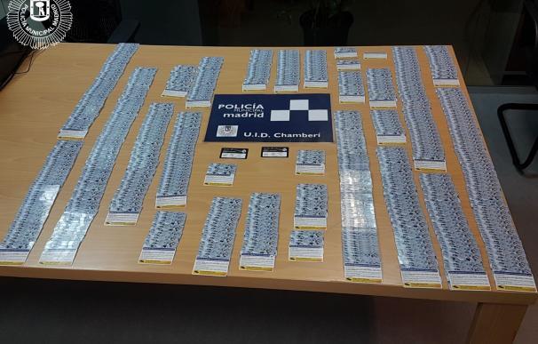 Los 630 abonos del Real Madrid intervenidos se estaban vendiendo en una casa por entre 500 y 700€ cada uno