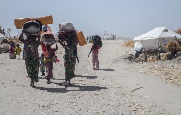 Caer enfermo en Rann (Nigeria) es casi una sentencia de muerte