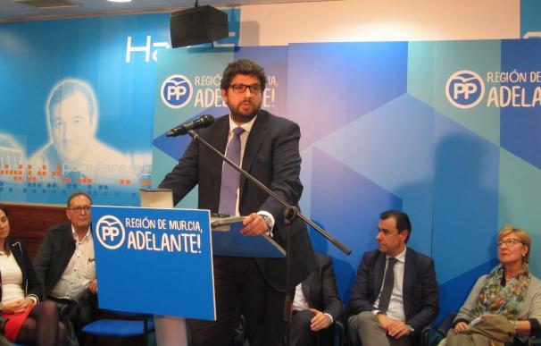 López Miras se convierte en el presidente autonómico más joven de España