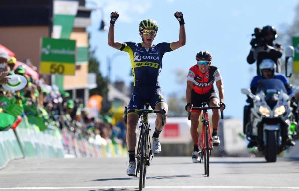 Simon Yates (Orica) gana la cuarta etapa y asalta el liderato en el Tour de Romandía