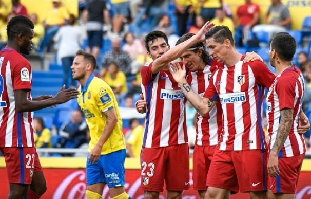 El Atlético se da un festín en Las Palmas (0-5) antes de la Champions
