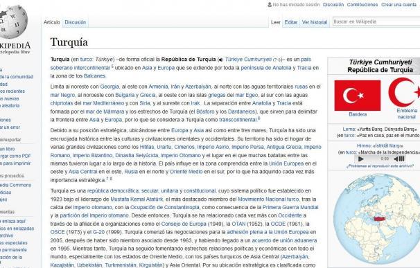 Wikipedia y Turquía