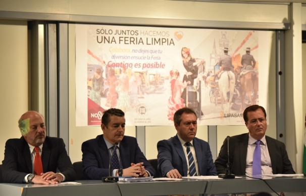 """Espadas destaca la """"experiencia"""" del dispositivo de la Feria 2017 y la coordinación entre administraciones"""