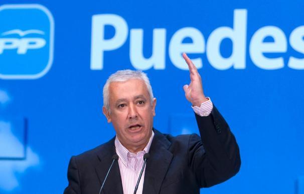 """Arenas asegura que el PP tiene """"predisposición"""" a apoyar al Gobierno en la reforma financiera"""