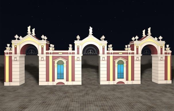 Los internautas eligen con sus votos el Mercado Central para la nueva portada de la Feria de Almería