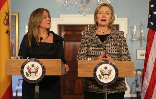 "Hillary Clinton alaba el ""importante"" papel de España en Latinoamérica"